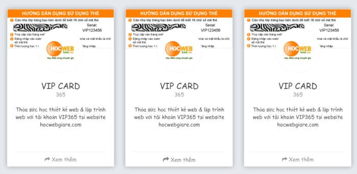 Hướng dẫn cách tạo VIP card bằng Bootstrap