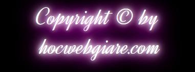 Tạo hiệu ứng ánh sáng đèn Neon tuyệt đẹp cho văn bản bằng CSS3