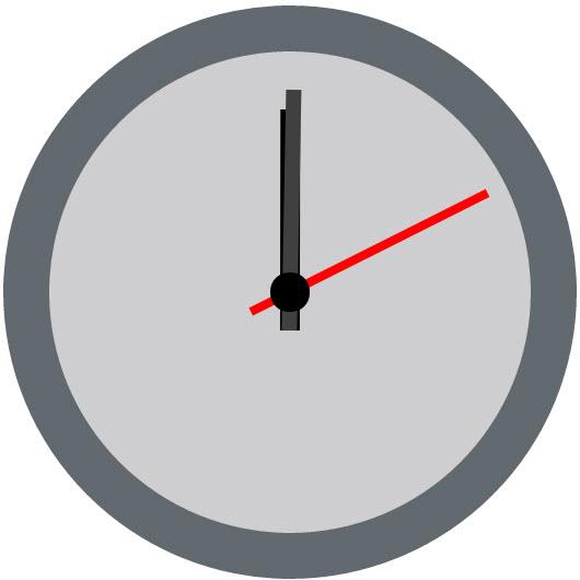 Hướng dẫn tạo đồng hồ cho website bằng CSS3 chuẩn RWD