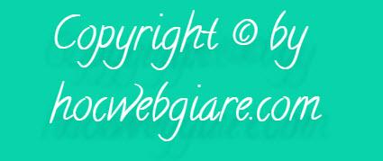 Tạo hiệu ứng ánh sáng khuếch tán cho văn bản bằng CSS3
